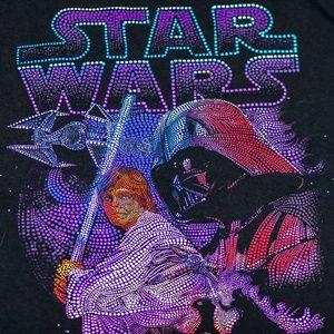 Star Wars Luke & Darth Vader Short Sleeve (L)